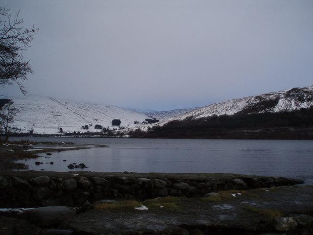 Loch Earn from an old jetty