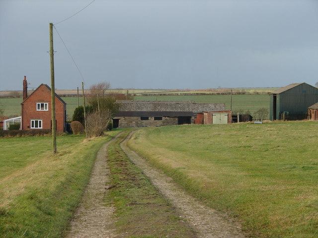 Road to Glebe Farm