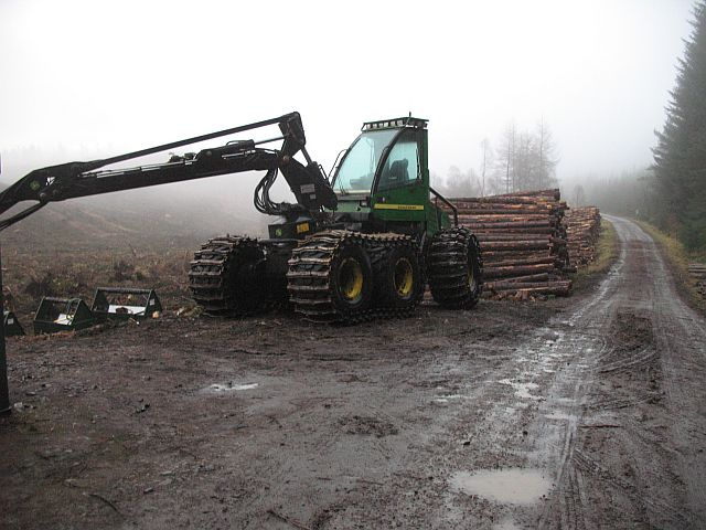 Forestry operations, Glen Garry