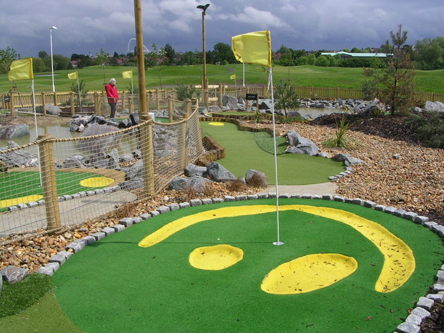 Minigolf at Northwick Park