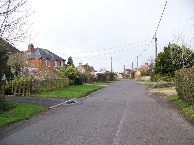 Slab Lane, Woodfalls