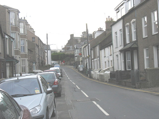 View up Well Street from the direction of the Fire Station