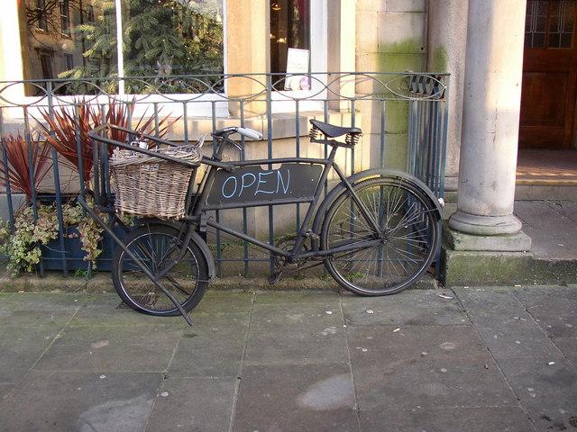 Delivery bike, Dalton Square, Lancaster