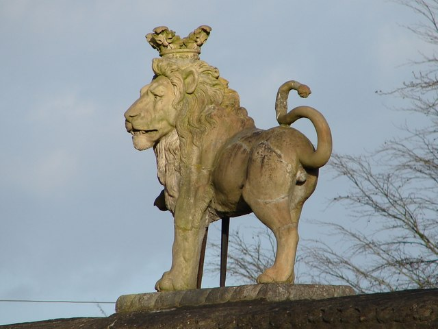 The Lion on the Lion Gateway