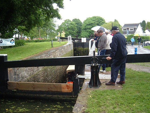 Upper lock at Fourteen Locks