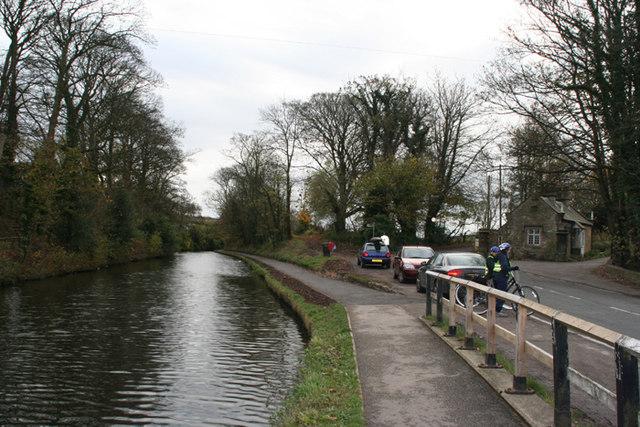 Lancaster Canal by Aldcliffe