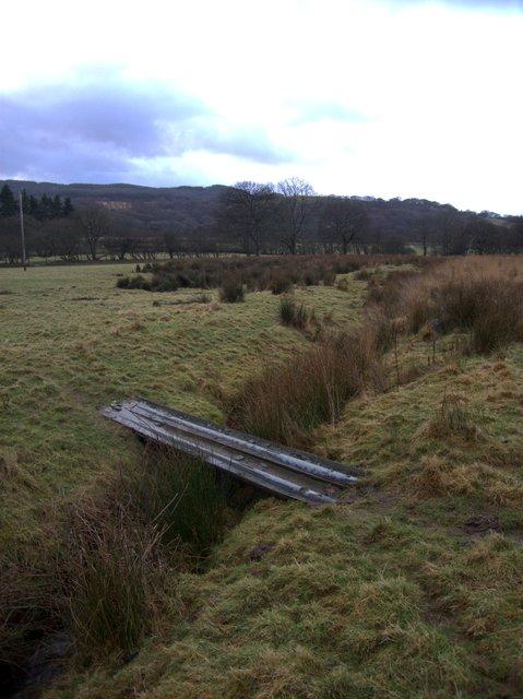 Simple but helpful - bridge over ditch