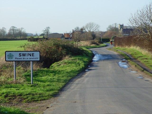 Coniston Lane, Swine