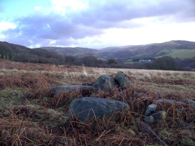 Cairn on Rhos Bron y Berllan