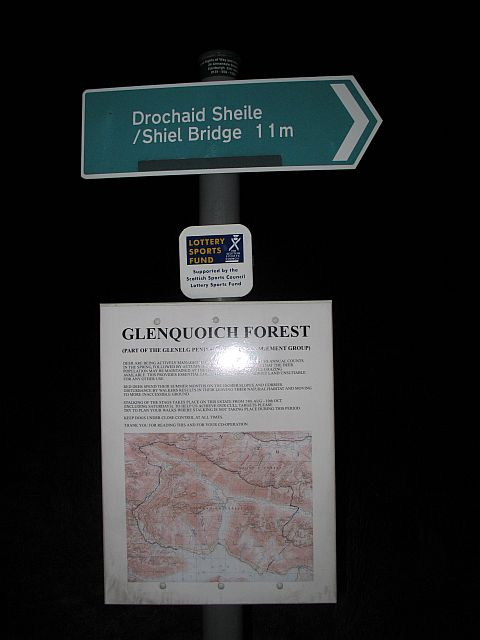 Path sign, Coireshubh