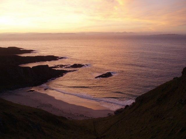 Sunrise, South Mull
