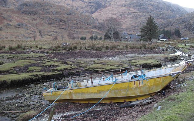 Shallow draught boat, Kinloch Hourn