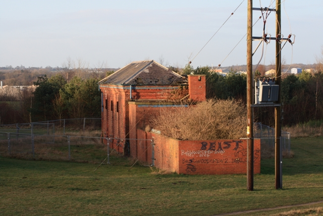Former Mine Building, Bestwood Colliery