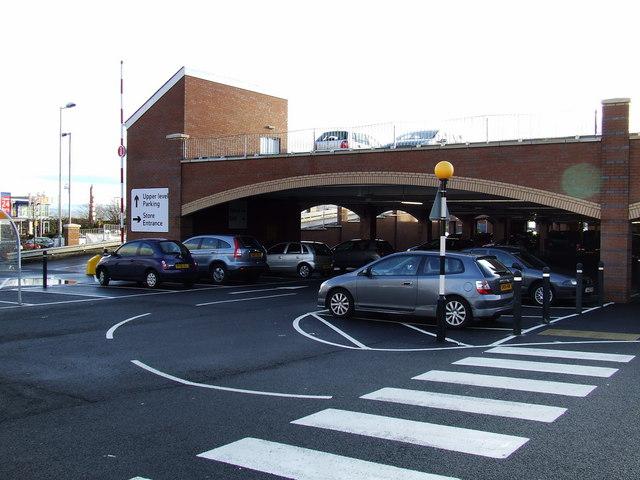 Tesco new car park