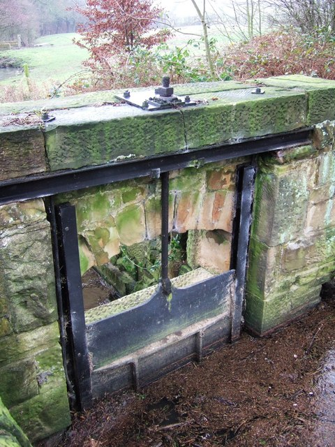 Sluice, Stainsby Mill