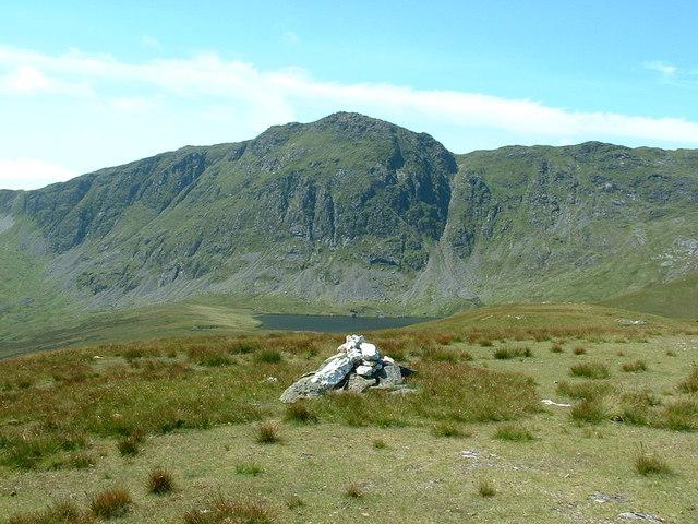 The summit of Foel Hafod-fynydd