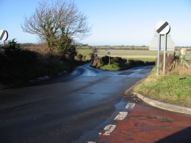 Two roads from Elvington