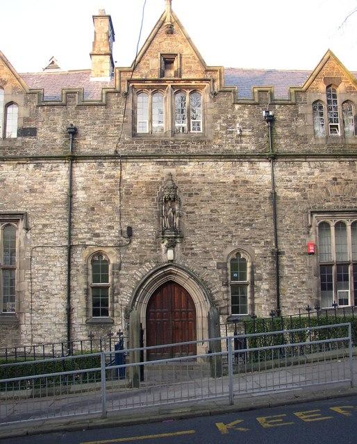 Doorway, Lancaster Grammar School, East Road, Lancaster