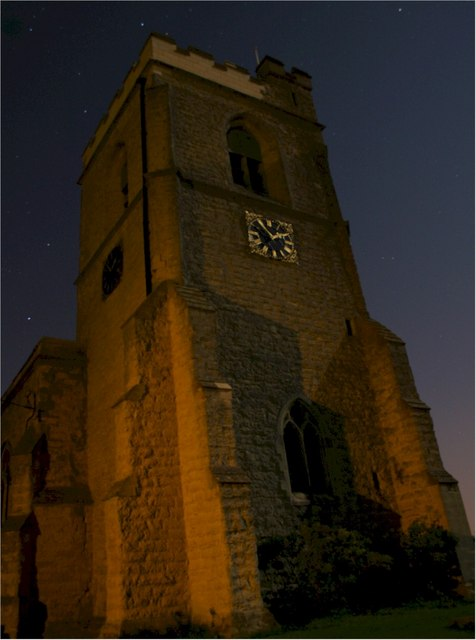 St. Mary's church at 01:55