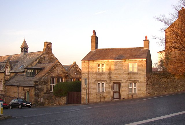 House and school, Moorgate, Lancaster