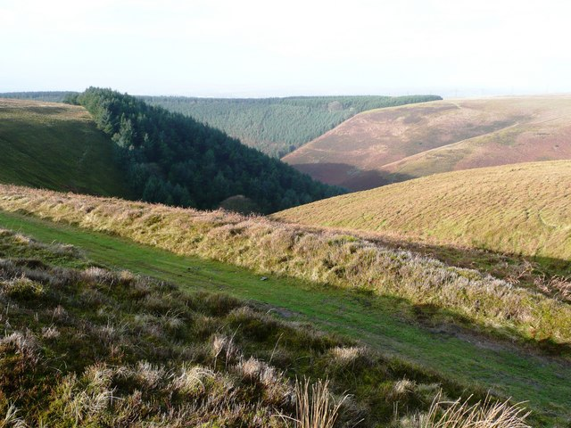 View from Mynydd Maen