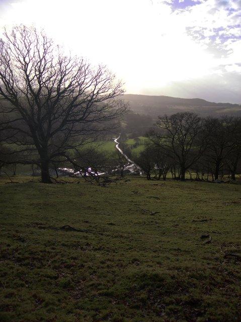 Caemadog farm access track