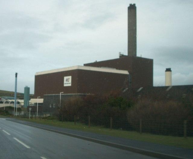 Power station, Lerwick.