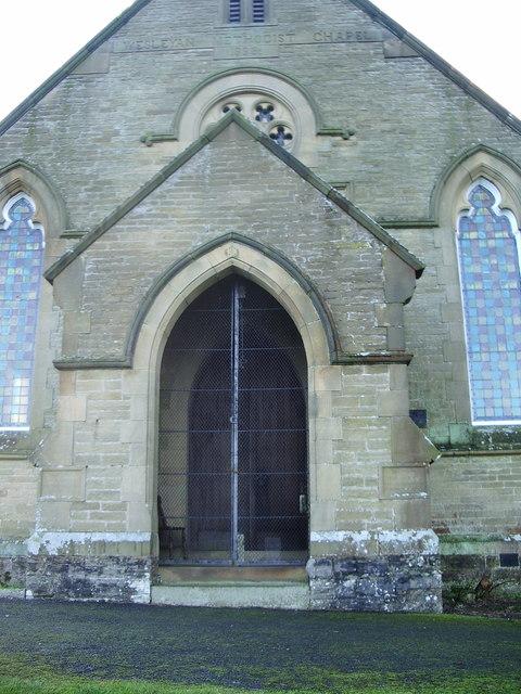 Airton Methodist Church, Porch