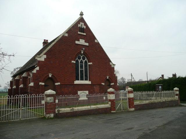 Victorian Methodist church