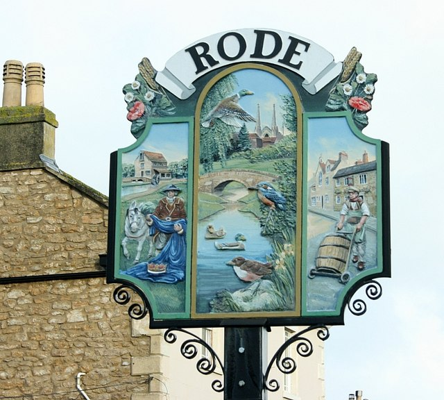 2008 : Rode Village Sign