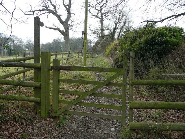 Bridleway to Vron Gate