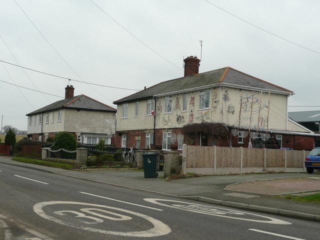 Council housing in Westbury