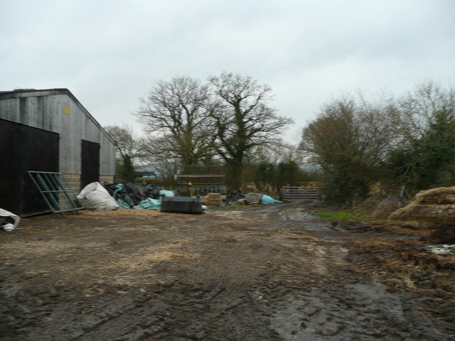 Lower Hem Farm yard