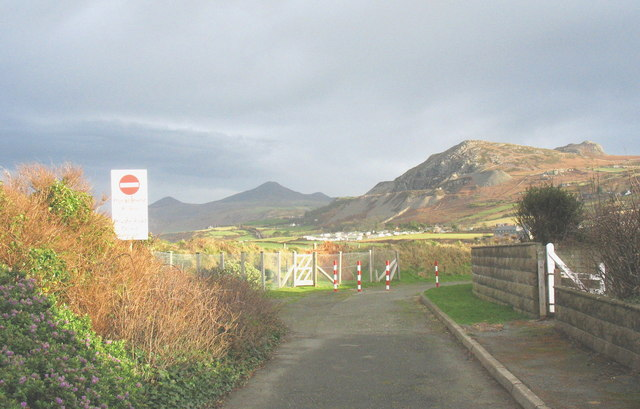 The private end of Rhodfa'r Mor