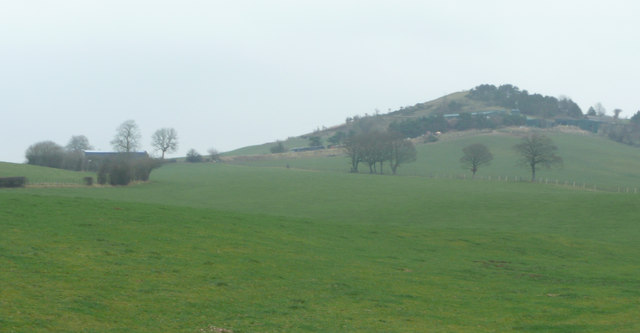 Squilver Farm and hill