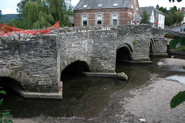 Bridge Over The River Clun