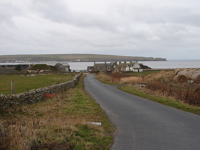 Lane to Thurso East Mains