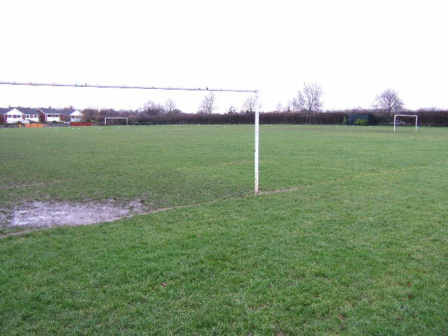 Football pitch, Thackeray Drive, Chester