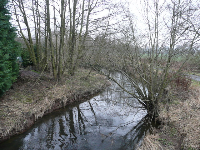 River Onny - view upstream