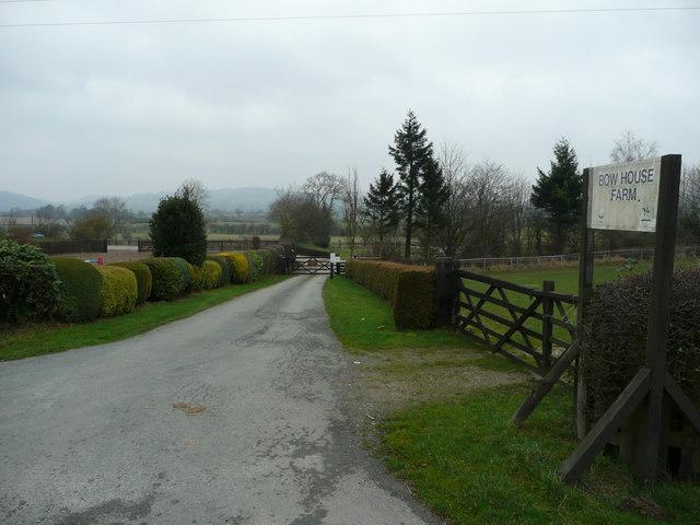 Entrance to Bow House Farm