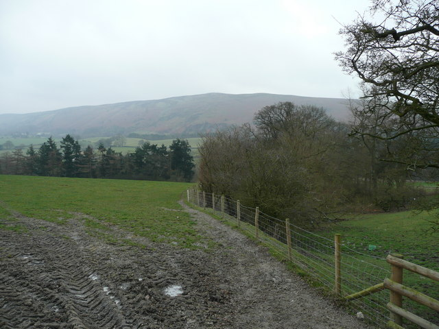 Easterly view from Choulton