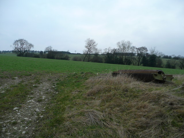 Farmland north of Edgton