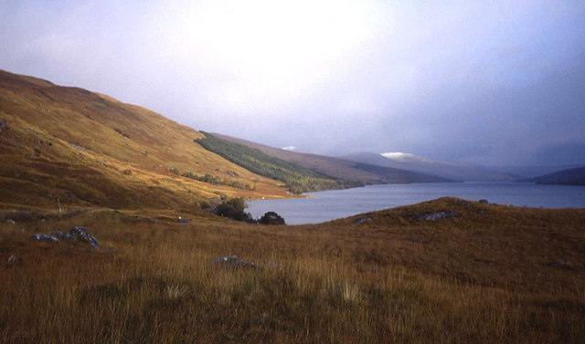 North shore of Loch Arkaig