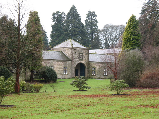 Hauxwell Hall gatehouse.