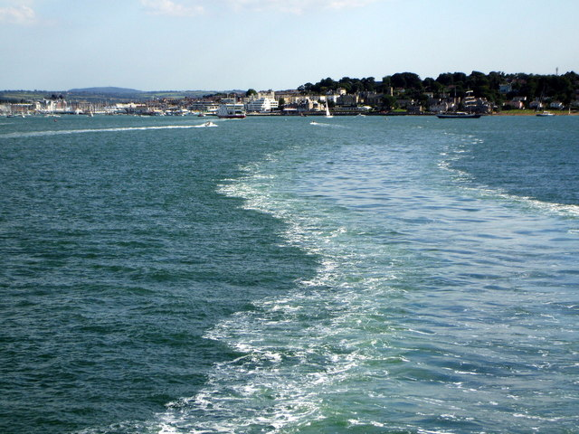 Over View of Cowes from the Ferry