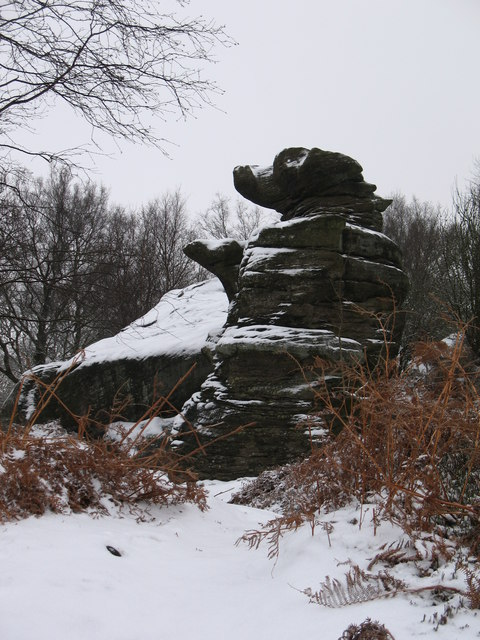 'The Dancing Bear' Brimham Rocks