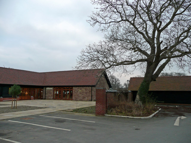 Restaurant block at Bromfield Farm