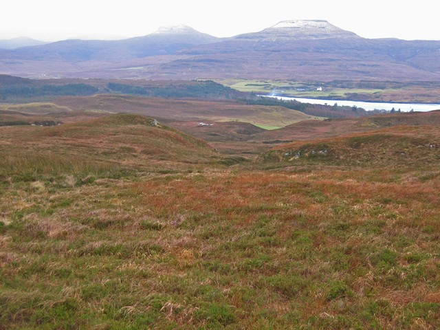 Moorland above Totachocaire