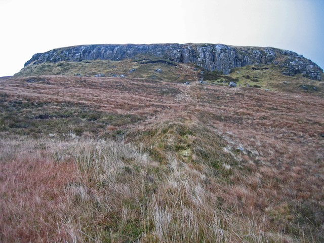 Crags above Glen Suardal