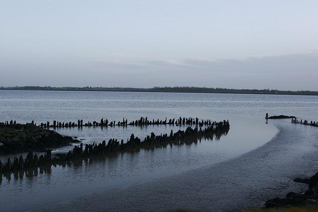 Halvergate Fleet reaches Breydon Water